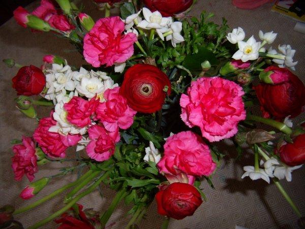 Des fleurs pour mon anniversaire