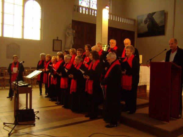 concert de la chorale cet après-midi