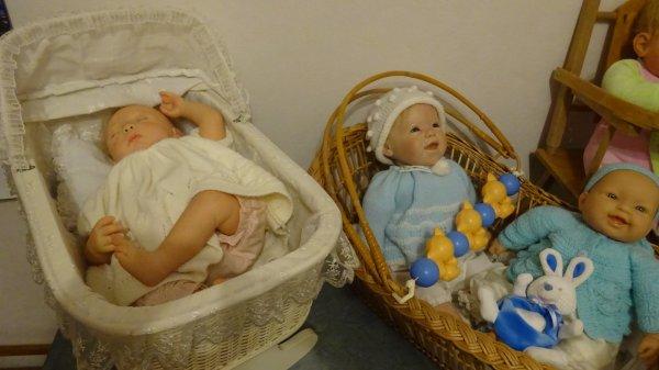 Les poupées ont enfin leur chambre !