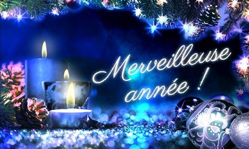 Bonne fête de fin d'année à toutes les amies !