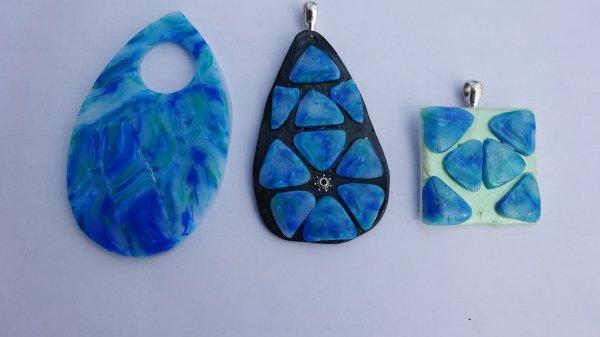 Mes créations de bijoux en Fimo