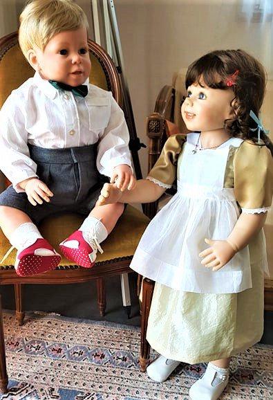 Peter et Verena en habits de cérémonie