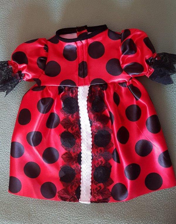 Robes en satin disponibles Taille 55/60 cm