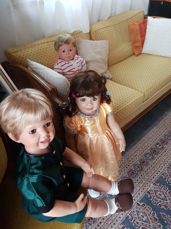 Verena, Luis et Peter