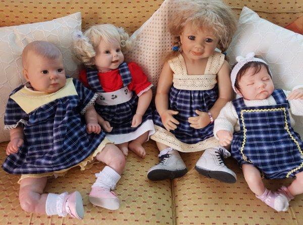 Lola-Rose, Maeva, Tamy et Mathis
