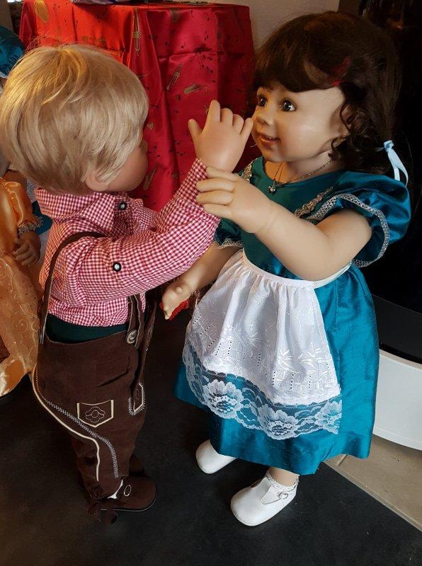 Luis et Verena dansent