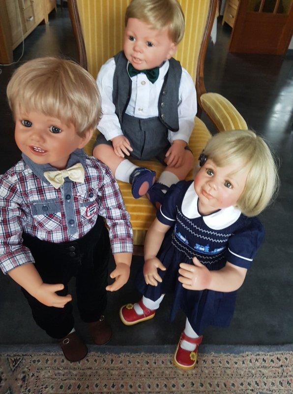 Luis, Peter et Lesley