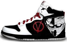 la chaussure de vendeta