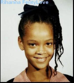 enfance de Rihanna