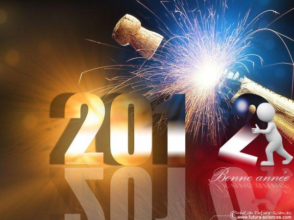 Bonne année 2012!!!