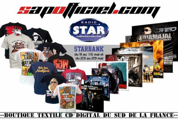COM D PRO PARTENAIRE OFFICIEL DE SAPOFFICIEL ET DE LA STAR BANK RADIO STAR