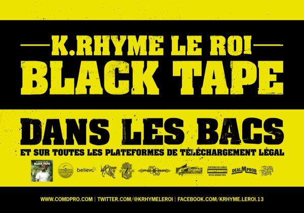 BLACK TAPE SORTIE PREVUE LE 29 AVRIL 2013