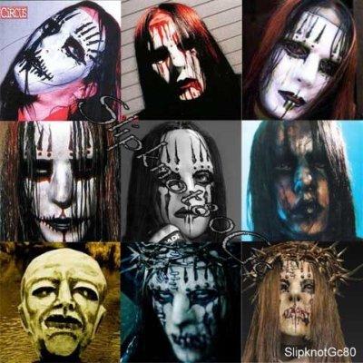 trouver le prix le plus bas vente discount détaillant en ligne Joey Jordison Evolution Des Masques - SlipKnot