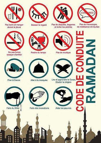 A l'approche du Ramadhan