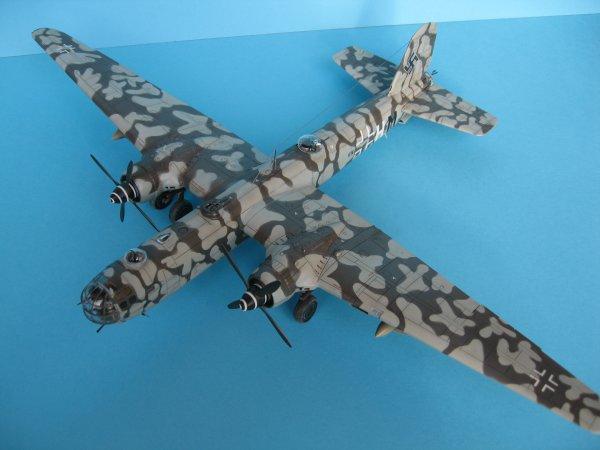"""Heinkel He 177 """"Greif"""" au 1/72°"""