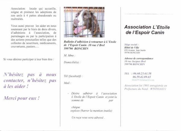 Bulletin D'adhésion ( à imprimer)