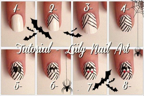 Nail art pour Halloween