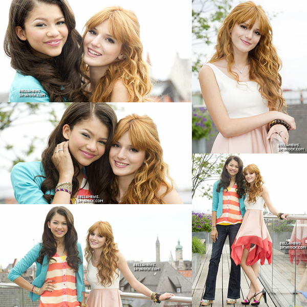 . Découvrez un nouveau photoshoot de Bella & Zendaya fait à Munich en Allemagne . .