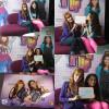 . 25/05/12 :   Bella et Zendaya signaient des autographes à une séance de dédicace dans Paris organisé par Disney Channel France ..