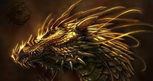 Dragon d'or