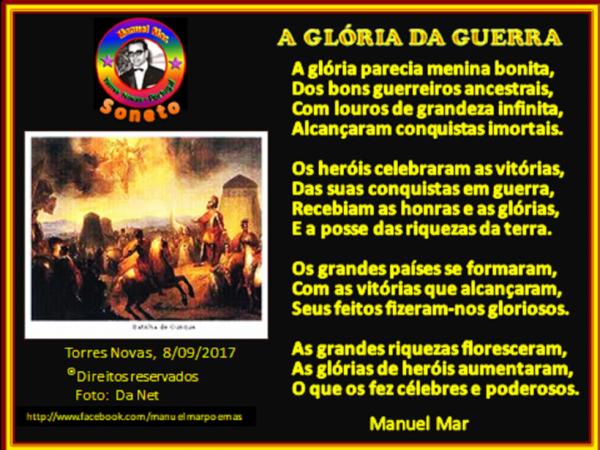 A GLÓRIA DA GUERRA