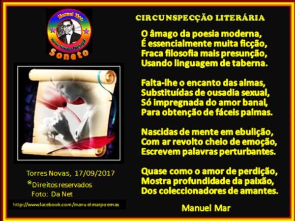 CIRCUNSPECÇÃO LITERÁRIA