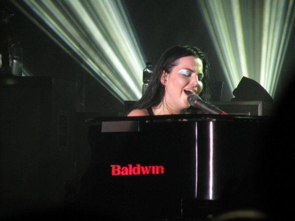 Concert d'Evanescence, Zurich (Suisse), 11 juin 2012