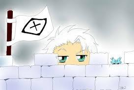 toshiro et sa forteresse de glace