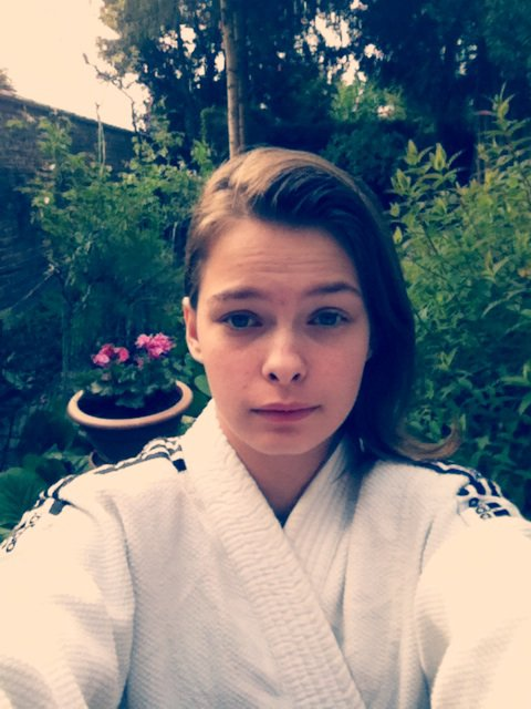 Prête pour le ju jitsu