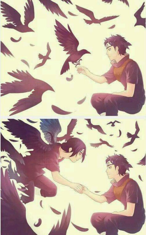 Always together  (Shisui and Itachi)