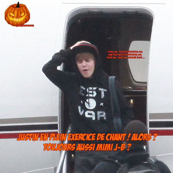 ( Humour ) Justin Bieber. 23/10/10