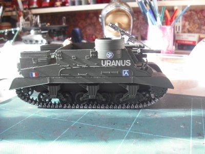 """M7 HMC, PRIEST 2ème division blindée française juillet 1944 """" URANUS"""", échel 1/35 revell"""