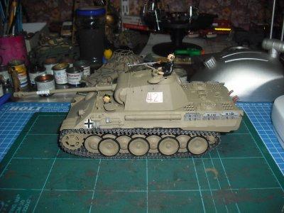 Panther V (sd.Kfz.171) ausf A , échelle 1/35,( tamiya)