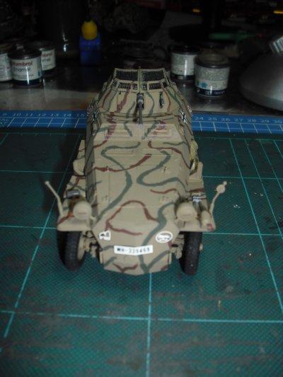 Sd.Kfz.250/9, la 116 ème division de panzer,échelle 1/35 ( tamiya)