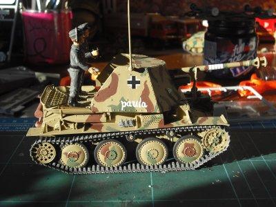 Sd.Kfz.139 PanzerJÄger Marder III, France 1944,échelle 1/35 (italeri)