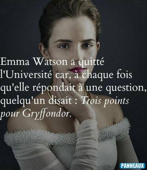 HEY miss Weasley le savais tu ?