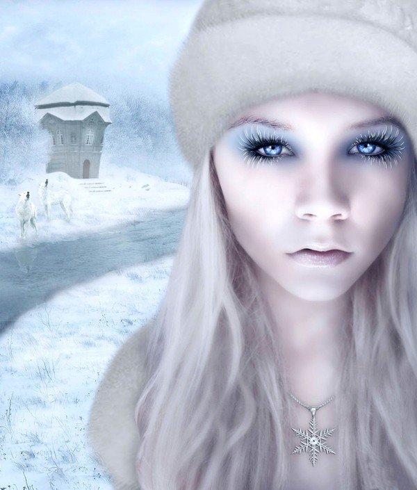 Blanc hiver.
