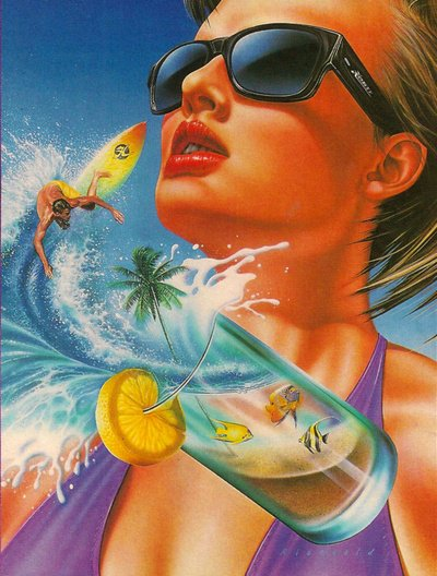 le soleil la plage le chance