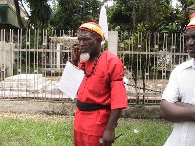 Marche pour l'ESPOIR du 27-11-2010: Message public sur transparence électorale