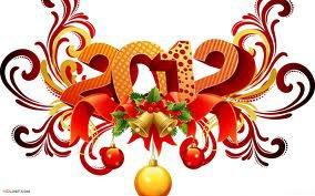 Bonne Année 2012  A Tous !!!!