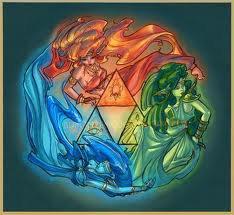 Les Déesses et la Triforce!!!!