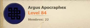 Argus Apocraphex