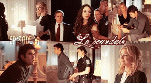 """Saison 1, Episode 16 """" Le Scandale """" Gifs = Tumblr - [ Regarder cet épisode ]"""
