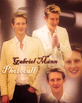 Gabriel Mann au Festival de Monte Carlo 2013  Festival qui a eu lieu du 9 au 13 juin.