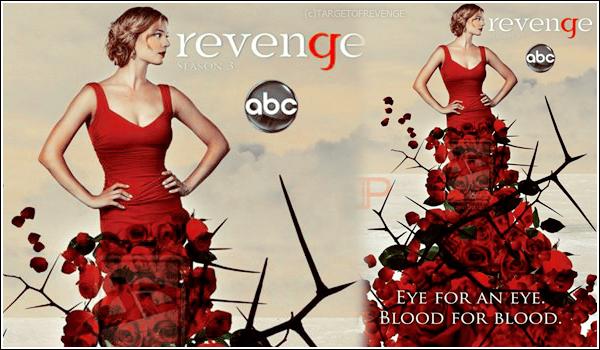 Revenge saison 3 spoilers + Promo vidéo  A moins d'1 mois avant la diffusion de la saison 3 de Revenge, de nouveaux spoilers viennent d'être révélés.