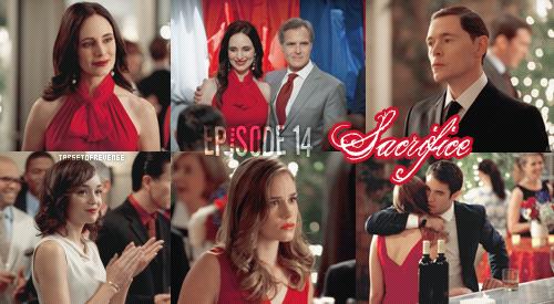 """Saison 2, Episode 14 """" Sacrifice """"  Emily – « Le sacrifice, dans sa plus stricte définition, demande quelque chose de précieux en échange de l'apaisement d'un plus haut pouvoir. Et se dévouer à une cause qui ne peut pas être satisfaite par une simple promesse »  Gifs - [ Regarder cet épisode ]"""