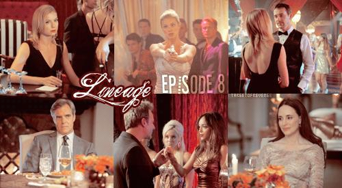 """Saison 2, Episodes 8 """" Lineage """"  Gifs - [ Regarder cet épisode ]"""