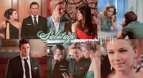 """Saison 2, Episode 11 """" Sabotage """"  Victoria – « C'est la guerre! »  Gifs - [ Regarder cet épisode ]"""
