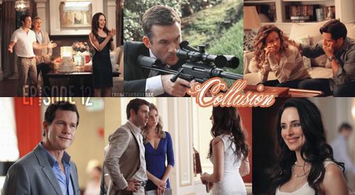"Saison 2, Episode 12 "" Collusion ""  Gifs - [ Regarder cet épisode ]"