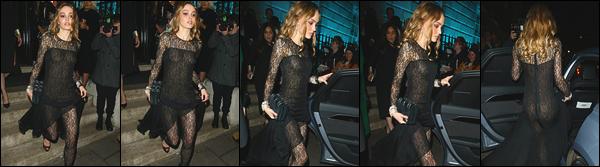 '-02/02/20-''—' Lily-Rose Depp était au « EE British Academy Film Award », au Royal Albert Hall, dans Londres. La même soirée elle s'est rendue à l'after-party organisée par Vogue x Tiffany Fashion, puis plus tard elle a été vue en quittant la boîte: Annabel's. Top.